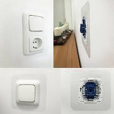 schalter programm lichtschalter schutz steckdosen abdeckung