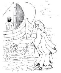 Jesus Walks On The Water Sunday School Lesson Ideas Craft And
