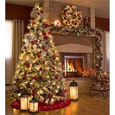 Fully Decorated Christmas Trees Kinkade 7 Ft Pre Lit Pull Up