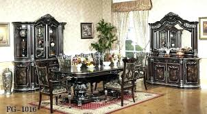 Italian Dining Room Sets Splendid Pleasing Classic Furniture Set