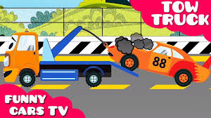 Sampler Cartoon Tow Truck Pictures With Cars Adventures Kids Trucks ...