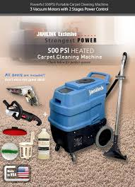 Janilink Carpet Extractor JL 2600 XGH39(500 PSI, Heater)