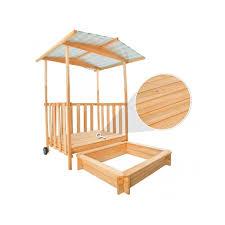 bac a avec toit bac à enfant maison bois avec véranda toit helloshop26