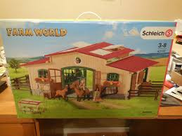 NEW Schleich Farm World Horse Stable Barn W/ Accessories # 42195 Sleich Horse Stable Figures Amazon Canada Buckthorn Stables Blog Club Riding Centre Here Come The Girls My Little L Review Large Farm With Animals Accsories How To Make Your Breyer Barn Stalls Realistic Cws Studio 27 Best Sleich Barn Images On Pinterest Bagel Children And Collecta Model Horses Flickr Amazoncom Toys Games Portable With Amazoncouk Life Accessory Set Toy Stall I Made For My Girls Things Tour2017 Daisy Youtube