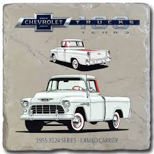 100 Cameo Truck 1955 3124 Series Carrier Chevy S 100 Stone Coaster GM