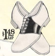 Mens And Womens Saddle Shoes Were Not Just A Fashion Fad In The 1950s Learn