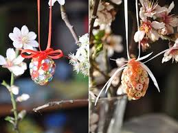Easter Home Decor Diy Ideas Egg Tree Ornaments