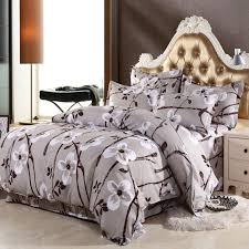 68 types 4pcs bedding sets fashion plant printed bed set