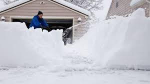 Tulsa County Daily Desk Blotter by Winter Weather How To Shovel Remove Snow Safely 98 7fm