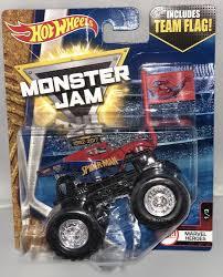 100 Spiderman Monster Truck SPIDER MAN HOT WHEELS MONSTER JAM 25 MARVEL HEROES 13 TEAM FLAG