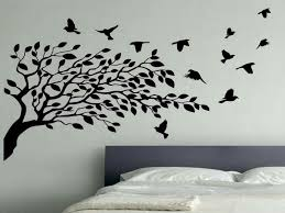 Tree Wall Decal Floral Patterns Interior Birds By Rossstickers