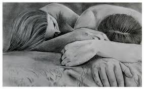 Artwork Love Sketch Wallpaper