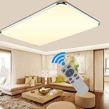 ademay led modern dimmbar deckenleuchte deckenle flur wohnzimmer le schlafzimmer küche panel leuchte energie sparen licht 64w