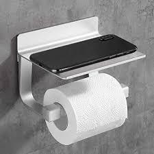 trustlife doppelter toilettenpapierhalter mit großem regal