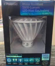 polaroid 5000k 800 lumen par30 dimmable led light bulb plpar30