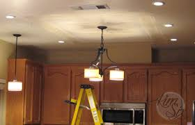 removing a fluorescent kitchen light box the six fix
