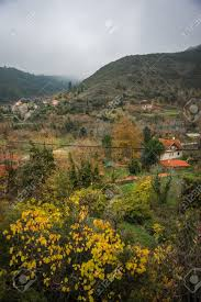 100 Kalavrita Scenic View To Small Village In Mountains Near