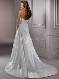 strapless wedding dresses with corset back naf dresses