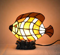 Hanging Oil Lamps Ebay by Stained Glass Fish Lamp Ebay