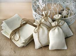 50 Sets Burlap Bags Rustic Wedding Favors Bag With Jute Twine Decor For Home