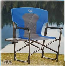 Timber Ridge Folding Lounge Chair by History Aluminum Directors Chair U2014 The Wooden Houses