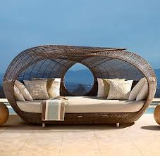 Spartan Daybed Neoteric Luxury Contemporary Patio Furniture Pool