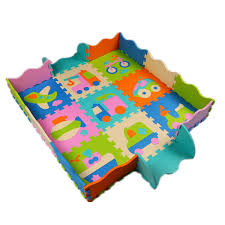 foam baby play mats baby crawling mat fence puzzle soft