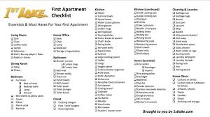 First Apartment Grocery List Cool 25 New House Checklist