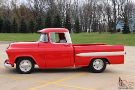 1956 Chevy 3100 Pick Up, Custom Fleetside, Pro Touring, Resto Mod ... 1956 Chevy Apache Nikki Bunn Lmc Truck Life Quick 5559 Chevrolet Task Force Truck Id Guide 11 Hot Rods Cabs The Hamb 195556 Grille Trucks Grilles Trim Car Parts Emerald Beauty Rod Network 56 Chevy Parked On A Bluff Overlooking Medina Lake Pickup Lost Wages Pickup Pinterest Cars Classic Trucks And Gmc I Had Chick Friend In High School Whos Dad Built Her Gm 195559 Gm Dont See Chopped Top Step Side Very Often Stepside Runs Drives Original Or V8