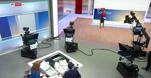 100 Studio 6 London Sky News Broadcast Set Design Gallery