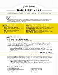 CV Layout Examples