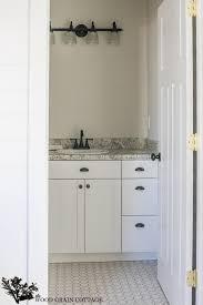 Kitchen Cabinet Door Hardware Placement by Fixer Upper Update Cabinet Hardware The Wood Grain Cottage