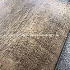China 4mm 5mm Vinyl Plank Click Flooring Waterproof Plastic PVC
