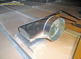 Suspended Ceiling How To by How To Install An Air Duct In A Suspended Drywall Ceiling Part 2