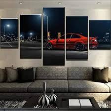 yywife bilder 5 teilig leinwand wanddeko geschenk 150x80cm