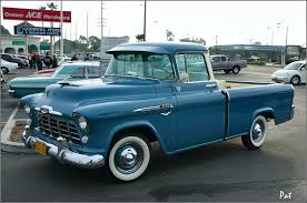 1956 Chevrolet 3100 Cameo Fleetside Pickup - Blue - Fvl =Pat D ... 1956 Chevy Apache Nikki Bunn Lmc Truck Life Quick 5559 Chevrolet Task Force Truck Id Guide 11 Hot Rods Cabs The Hamb 195556 Grille Trucks Grilles Trim Car Parts Emerald Beauty Rod Network 56 Chevy Parked On A Bluff Overlooking Medina Lake Pickup Lost Wages Pickup Pinterest Cars Classic Trucks And Gmc I Had Chick Friend In High School Whos Dad Built Her Gm 195559 Gm Dont See Chopped Top Step Side Very Often Stepside Runs Drives Original Or V8