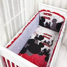 5pcs newborn baby crib bedding set for boy baby crib bumper