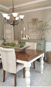 Modern Rustic Farmhouse Dining Room Style 22 Table Decor Centerpiece Dinning