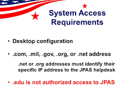 joint personnel adjudication system jpas overview ppt video