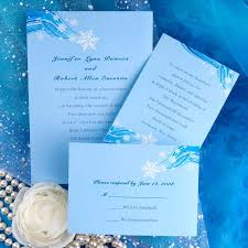Light Blue Wedding Invitations Royal And Gold