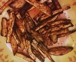 cuisiner des panais marmiton frites de panais au four recette de frites de panais au four