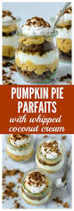 Pumpkin Mousse Trifle by Pumpkin Parfaits With Coconut Whipped Cream