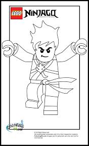 LEGO Ninjago Kai Coloring Pages