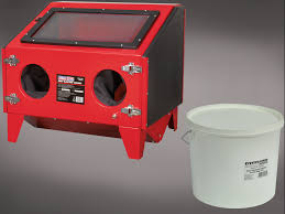 Media Blasting Cabinet Manufacturers by Sealey Shot Blasting Cabinet 25kg Tub Glass Blasting Beads T For