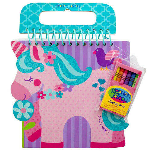 Stephen Joseph Shaped Sketch Pad Unicorn