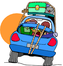 Free Car Travel Clipart Image