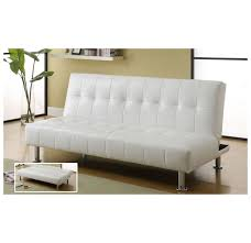 whi loft klik klak sofa white 108 728wt modern furniture canada