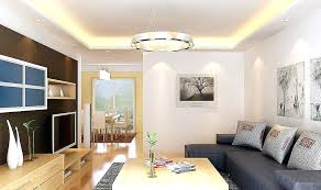 contemporary living room ceiling entertainment center lighting