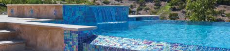 Glow In The Dark Mosaic Pool Tiles by Lightwaves National Pool Tile Group