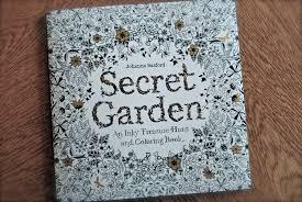 The Secret Garden Coloring Book By Johanna Basford